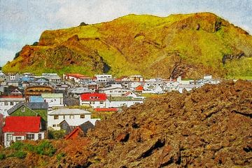 Nieuw Pompeï, Heimaey, IJsland