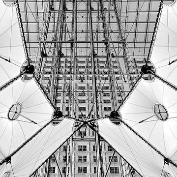 Parijs, La Grande Arche von Bert Bouwmeester