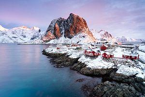 Hamnoy Lofoten Winter