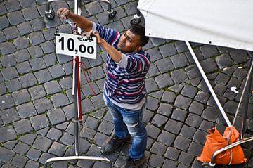 Marktkoopman Rome van Marieke van der Hoek-Vijfvinkel