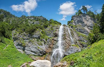 Cascade de Dalfazer au Tyrol sur Susanne Bauernfeind