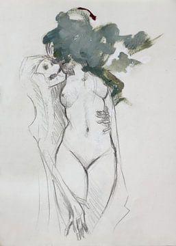 Hades und Persephone van M. Ur Rehman