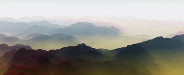 Dämmerung in den Bergen von Angel Estevez
