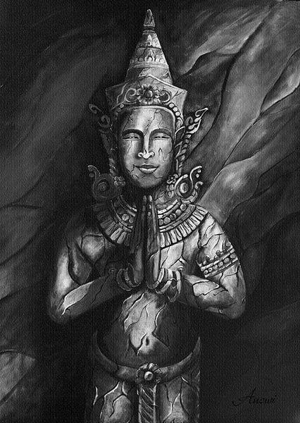 Temple guardian van Iwona Sdunek alias ANOWI