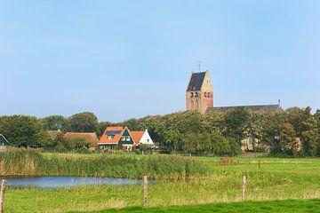 Nederlandse Hervormde kerk in Hollum van Ivonne Wierink