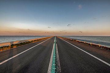 Endlose Straße von Geertjan Kuper
