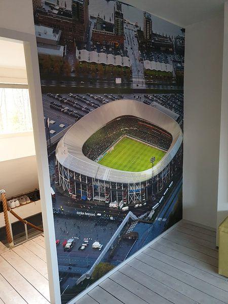 Kundenfoto: De Kuip von oben gesehen von Anton de Zeeuw, auf fototapete