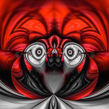 Phantasievolle abstrakte Twirl-Illustration 122/24 von PICTURES MAKE MOMENTS