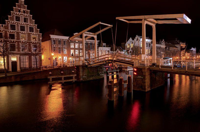 Haarlem at night HDR Catharijnebrug van Wouter Sikkema