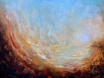 Sonnenuntergang Tal von Christian Carrette