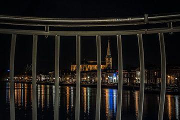 Bovenkerk achter tralies van Gerrit Veldman