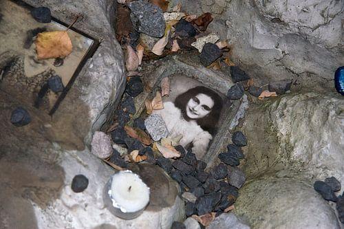 Portret van Anne Frank van Ronald Jansen
