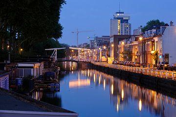 Leidsekade en Leidseweg in Utrecht sur Donker Utrecht