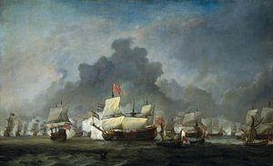 Het gevecht van Michiel Adriaensz de Ruyter tegen de hertog van York op de 'Royal Prince'