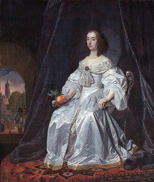 Maria Stuart als Witwe Willem II., Bartholomeus van der Helst von