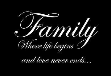 Family - Zwart van Sandra H6 Fotografie