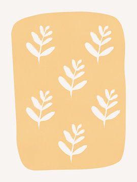 Abstrakte Blumen Muster von MDRN HOME
