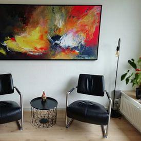Kundenfoto: G E N E S I S von Katarina Niksic, auf leinwand