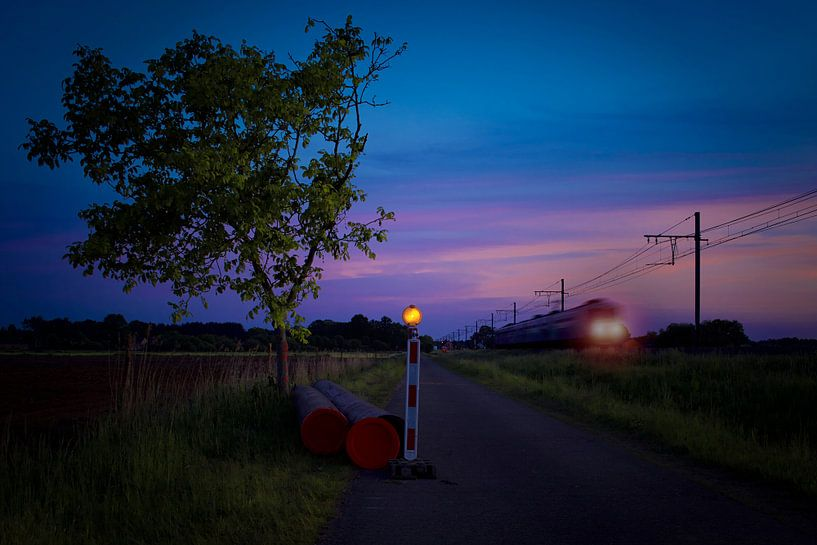 Avondtrein van Gert Mostmans