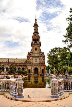 Plaza de Espana Toren sur Rene Albers