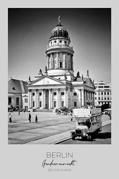 In beeld: BERLIJN Gendarmenmarkt van Melanie Viola