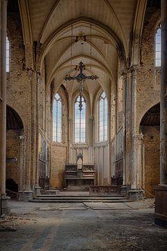 Urbex: Blue Christ Church van Carola Schellekens