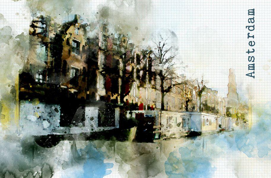 Amsterdam leven  van Ariadna de Raadt