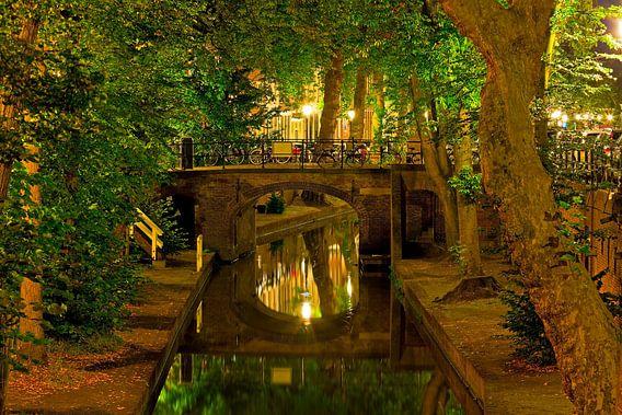 Quintijnsbrug Nieuwegracht te Utrecht van Anton de Zeeuw
