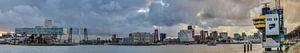 Rotterdam panorama van Rob van de Graaf