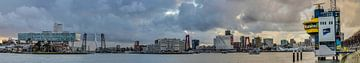 Rotterdam panorama von Rob van de Graaf