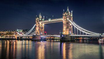 Nacht im Tower Bridge, Nader El Assy von 1x