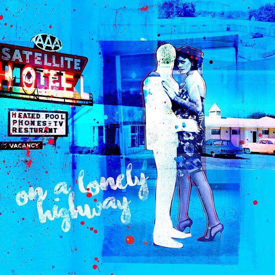 Blue Hotel - #1 (of 5) van Feike Kloostra