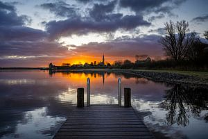 Veere Skyline van Thom Brouwer