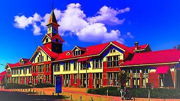 Hauptgebäude GGZ Dijk en Duin von Digital Art Nederland
