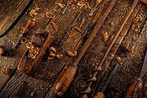 Weinlesewerkzeuge für die Holzbearbeitung