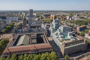 Het Stadhuis, Oude Postkantoor en Timmerhuis in Rotterdam van MS Fotografie | Marc van der Stelt