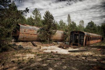 Tschernobyl-Zug 3 von Kirsten Scholten
