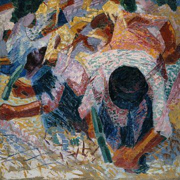 Umberto Boccioni-Die Straßenpflaster