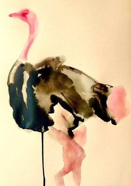 Federn mit Schwung von Helia Tayebi Art