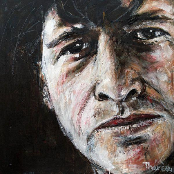 Portret Herman Brood van Therese Brals