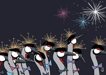 Kraanvogels van Cato Duys