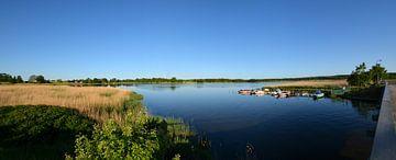 Wreecher See - Rügischer Bodden, samenloop Wreecher See van GH Foto & Artdesign