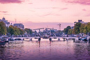 Les couleurs tôt le matin sur Amstel sur Stewart Leiwakabessy