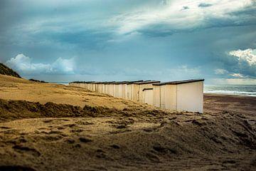 Strand Hütten von Oscar Limahelu