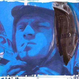 Motiv Steve Porträt Mc Queen - Frame 01 von Felix von Altersheim