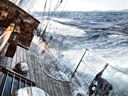Segeln mit starkem Wind