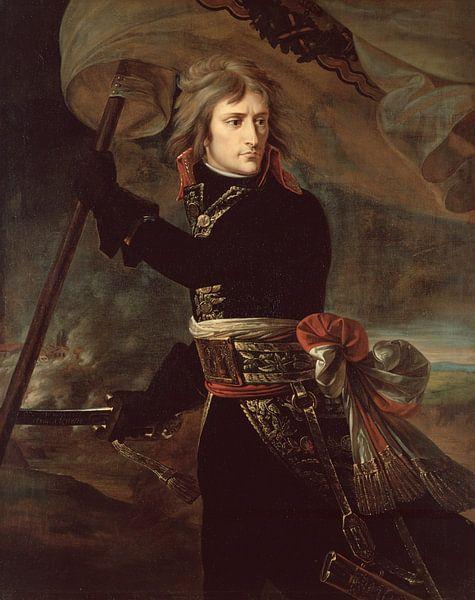 Napoleon Bonaparte auf der Brücke bei Arcole, Antoine-Jean Gros von The Masters