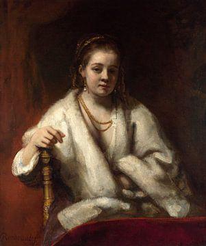 Porträt von Hendrickje Stoffels, Rembrandt