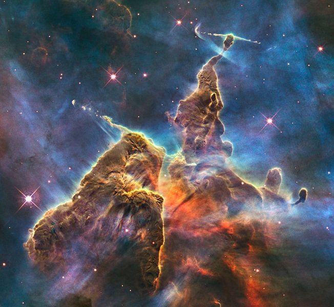Hubble Spacetelescope photo van Brian Morgan