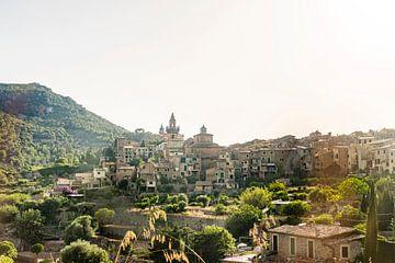 Uitzicht over Valldemossa op Mallorca